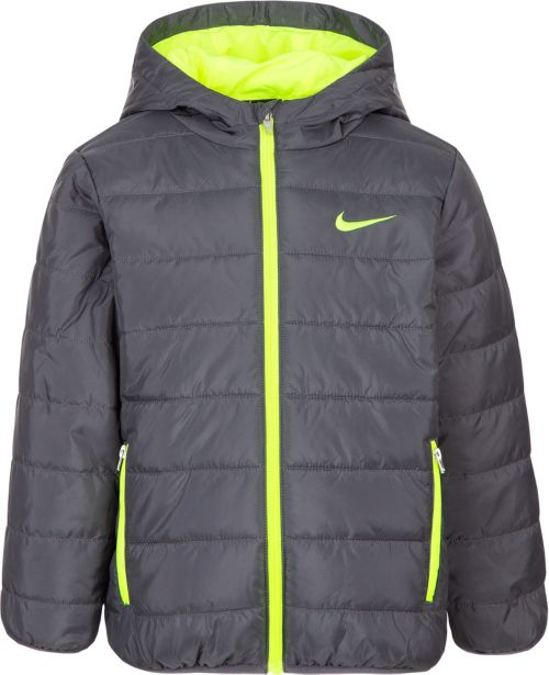 dea3c3a5825c Nike Boys  Polyfill Quilted Insulated Puffer Jacket