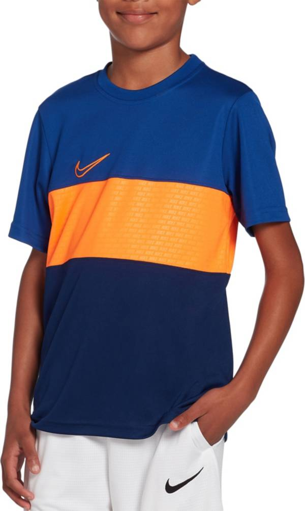 Nike Boys' Dry Academy Colorblock Tee product image