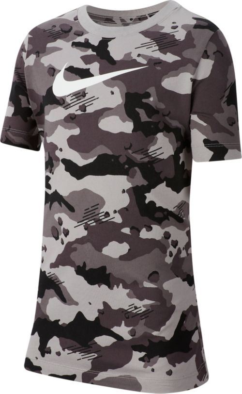 533604cc Nike Boys' Sportswear Camo Allover Print Graphic Tee. noImageFound. Previous