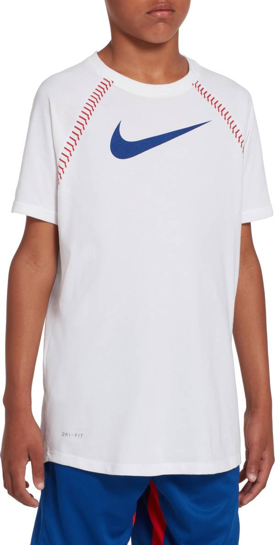 Nike Boys' Dri-FIT Raglan Graphic Tee product image