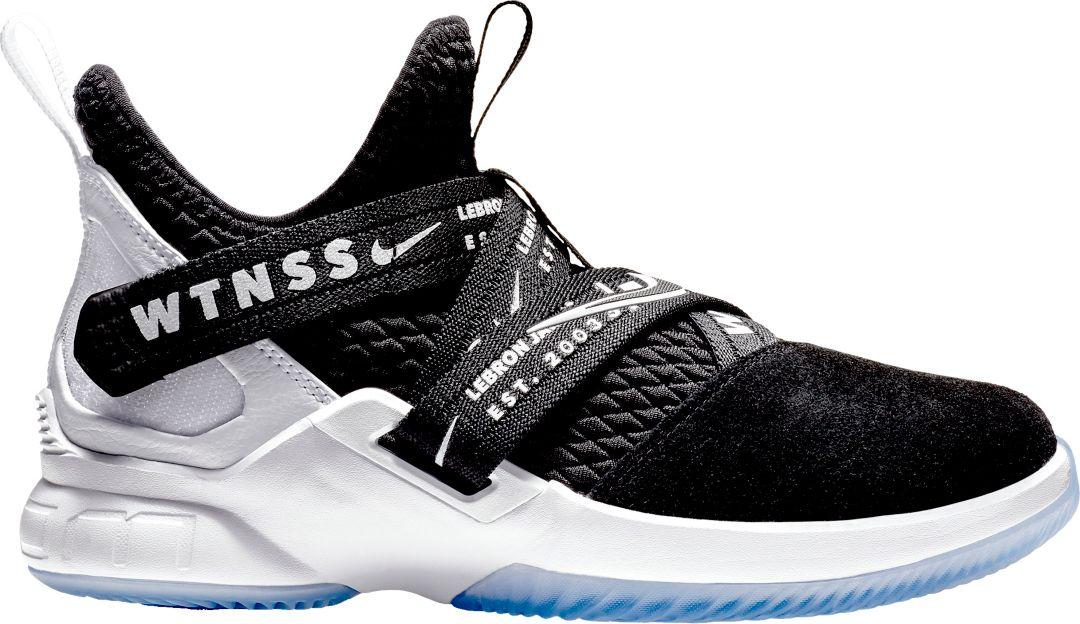 32fc54b425284 Nike Kids' Grade School LeBron Soldier XII Basketball Shoes   DICK'S ...