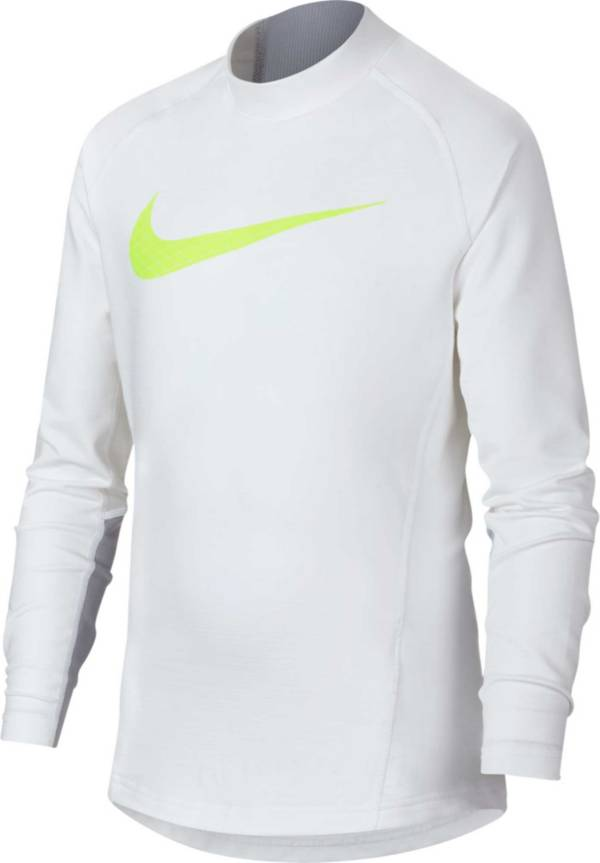 Nike Boys' Dri-FIT Mock Neck Compression Shirt product image