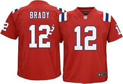 buy online 15b5a dab60 Nike Boys' Alternate Game Jersey New England Patriots Tom Brady #12