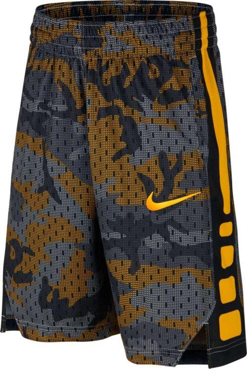 Nike Boys  Dry Elite Camo Print Basketball Shorts. noImageFound. Previous 67cbdfde49