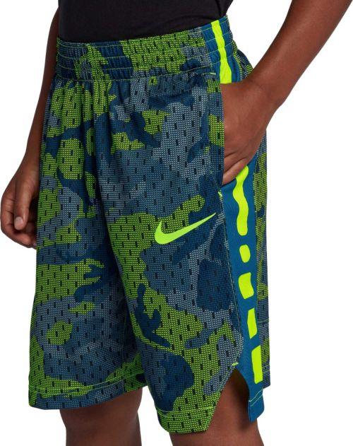 c47e3ebb4c0f Nike Boys  Dry Elite Camo Print Basketball Shorts