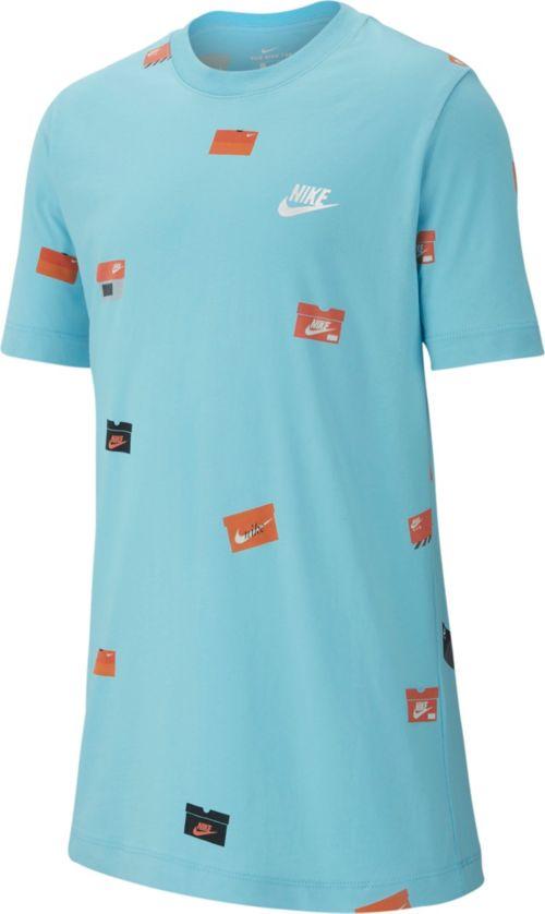 4d2322a30 Nike Boys' Sportswear Allover Print Shoebox Graphic Tee | DICK'S ...