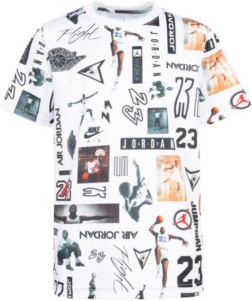 5068d8b7 Jordan Boys' Mesh Stencil T-Shirt. noImageFound. Previous. 1