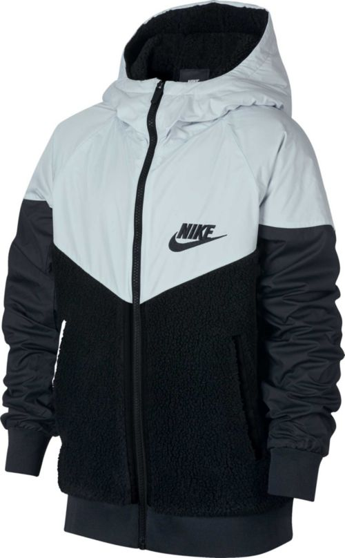 Nike Boys  Sportswear Sherpa Windrunner Jacket. noImageFound. Previous c1f433bb3