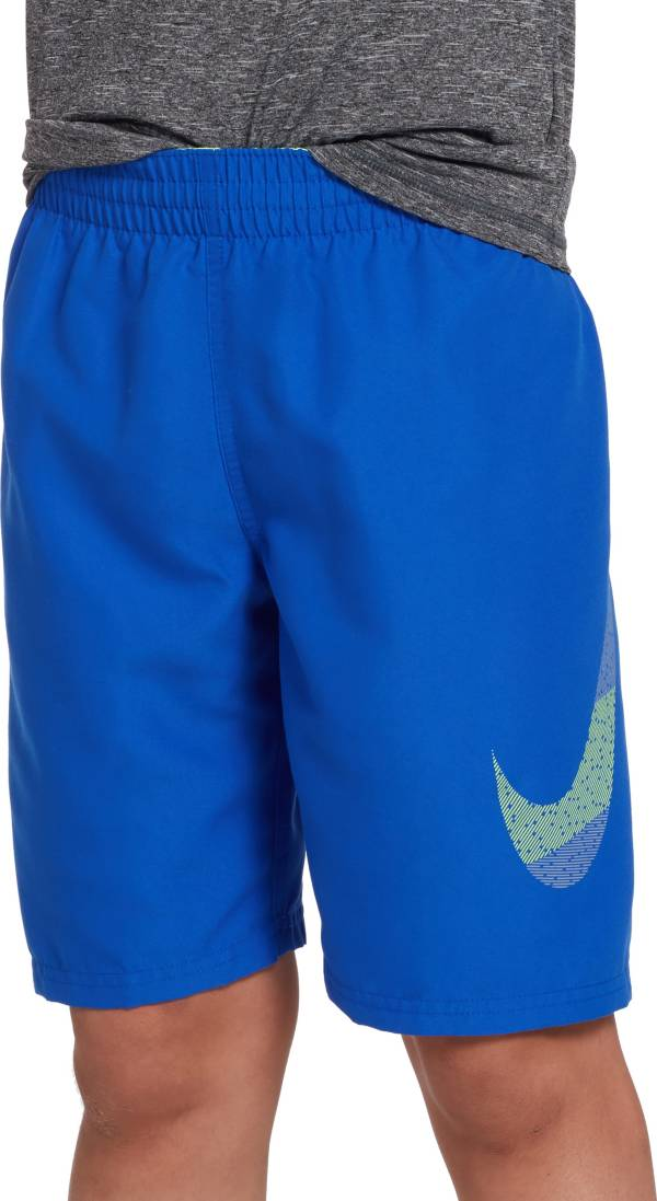 """Nike Boys' Mash Up Solid 8"""" Volley Swim Trunks product image"""