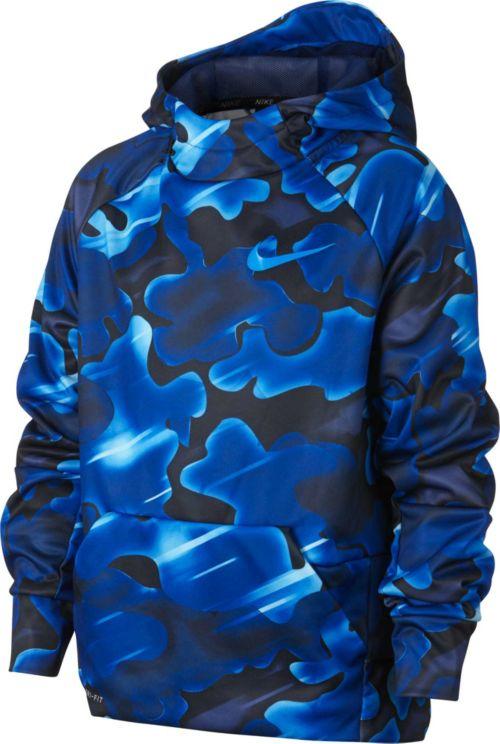 Nike Boys  Therma Printed Hoodie. noImageFound. Previous b96fa8407
