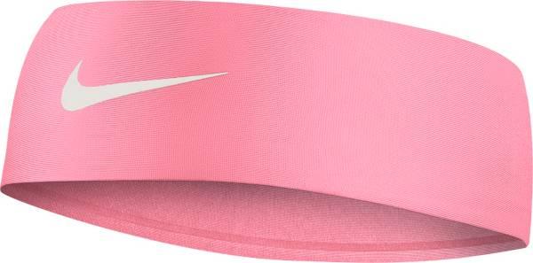 Nike Girl/'s Fury Headband 2.0 Racer Pink//White Youth