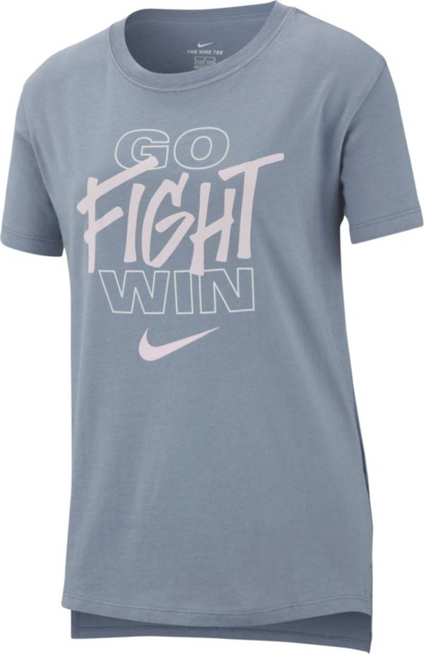 Nike Girls' Go Fight Win Graphic Tee product image