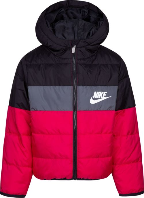 caf5ea7bb085 Nike Girls  Polyfill Blocked Insulated Puffer Jacket. noImageFound. Previous