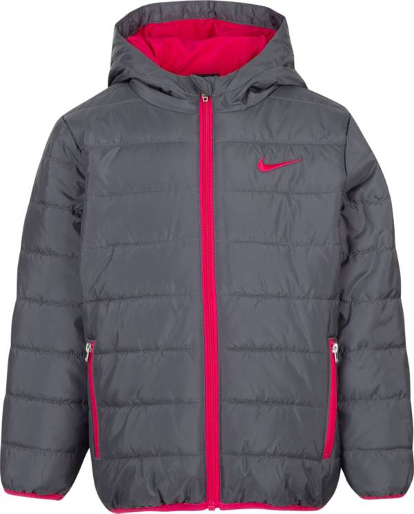 Nike Girls' Polyfill Quilted Insulated Puffer Jacket product image