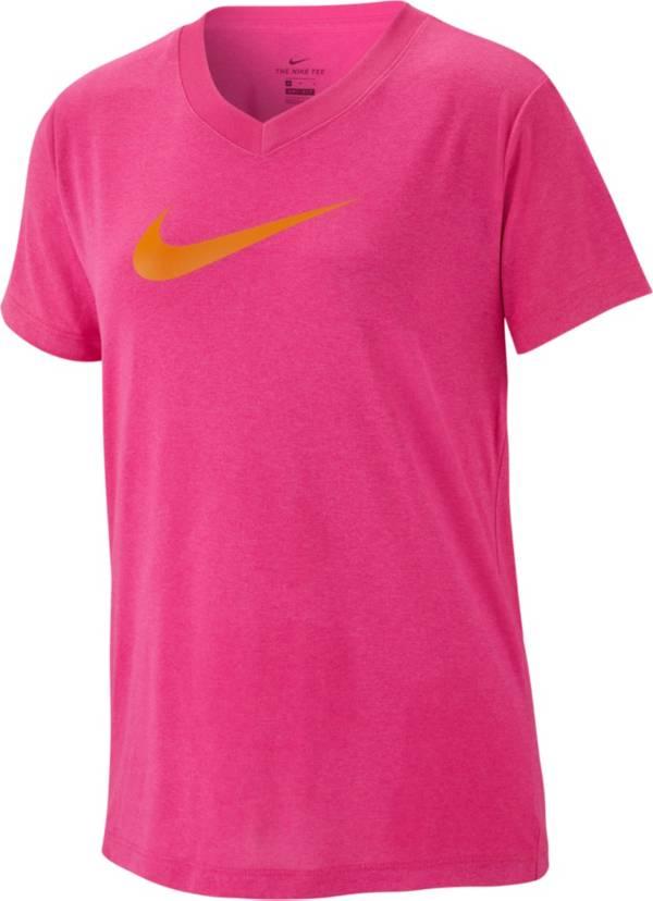 Nike Girls' Dry Legend V-Neck Tee product image