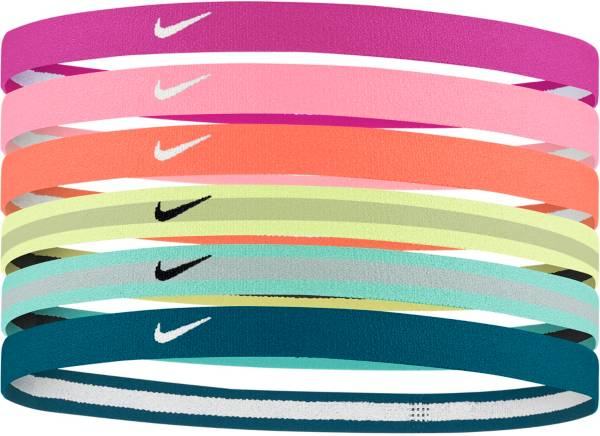 Nike Girls' Swoosh Sport 2.0 Headbands – 6-Pack product image