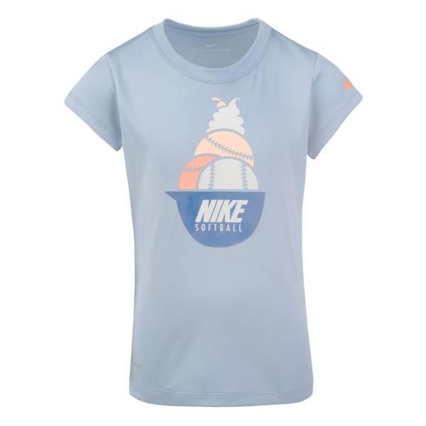 Nike Little Girls' Dry Softball Sundae T-Shirt product image