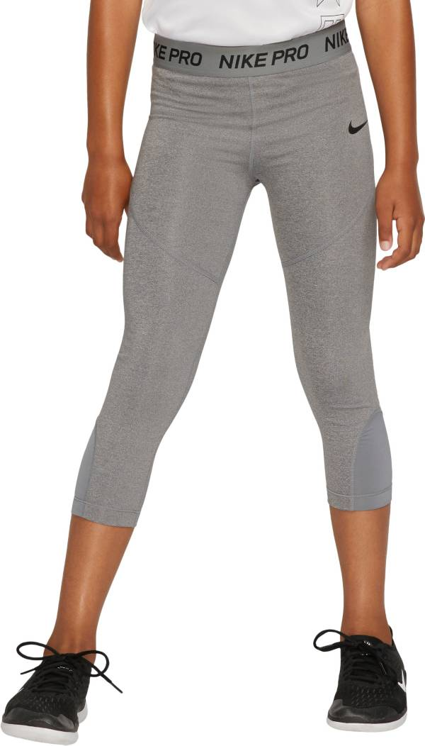 Nike Girls' Pro Dri-FIT Solid Capris product image