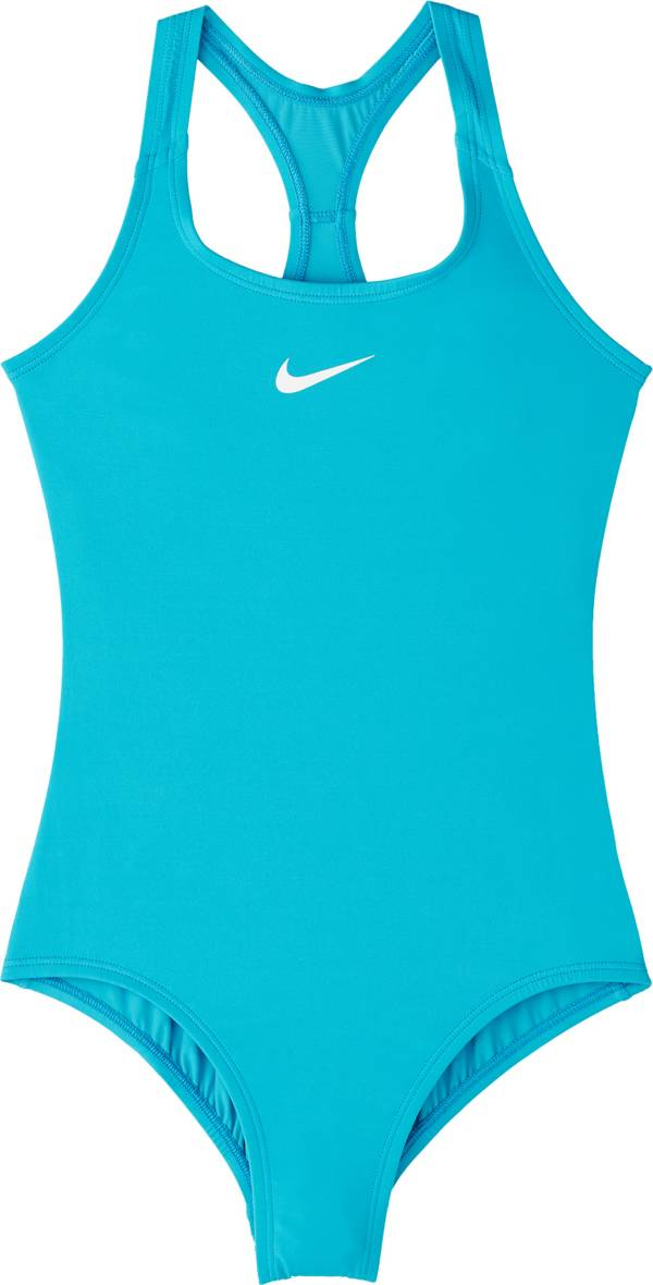 Nike Girls' Solid Racerback One Piece Swimsuit product image