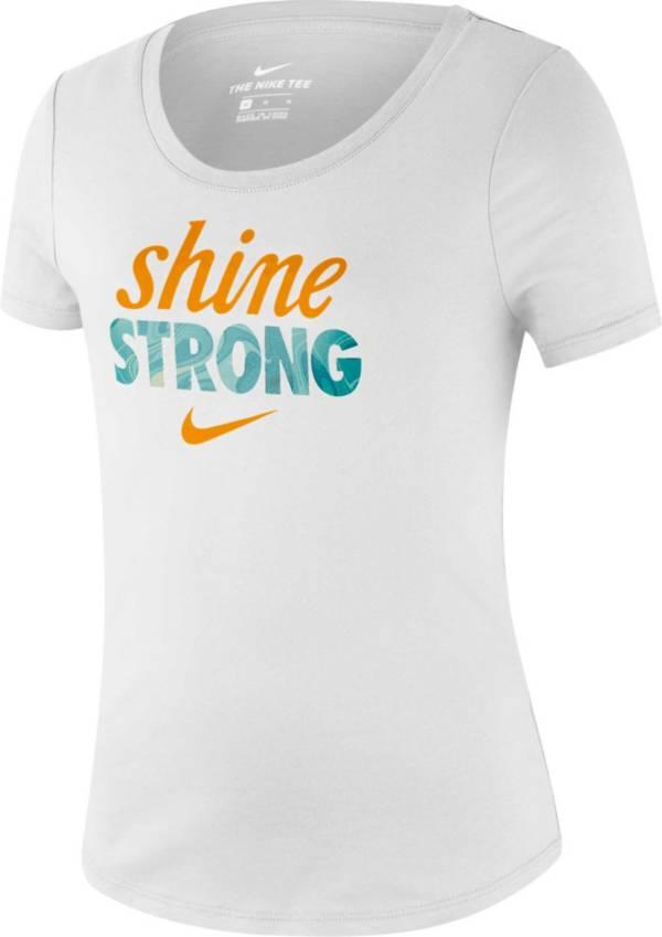 Nike Girls' Sportswear Shine Strong Graphic Tee product image