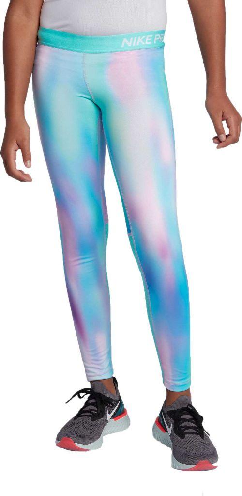b4759d43f0509 Nike Girls' Pro Warm Printed Tights   DICK'S Sporting Goods