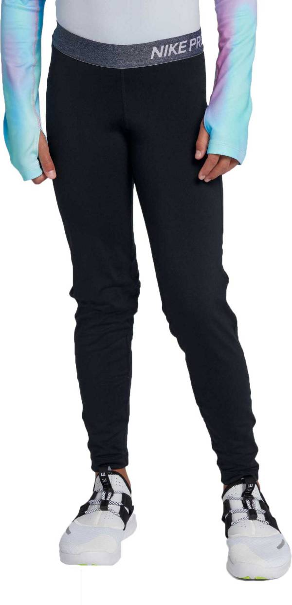 Nike Girls' Pro Dri-FIT Warm Training Tights product image
