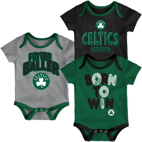 f74876140 Outerstuff Infant Boston Celtics 3-Piece Onesie Set. noImageFound. Previous
