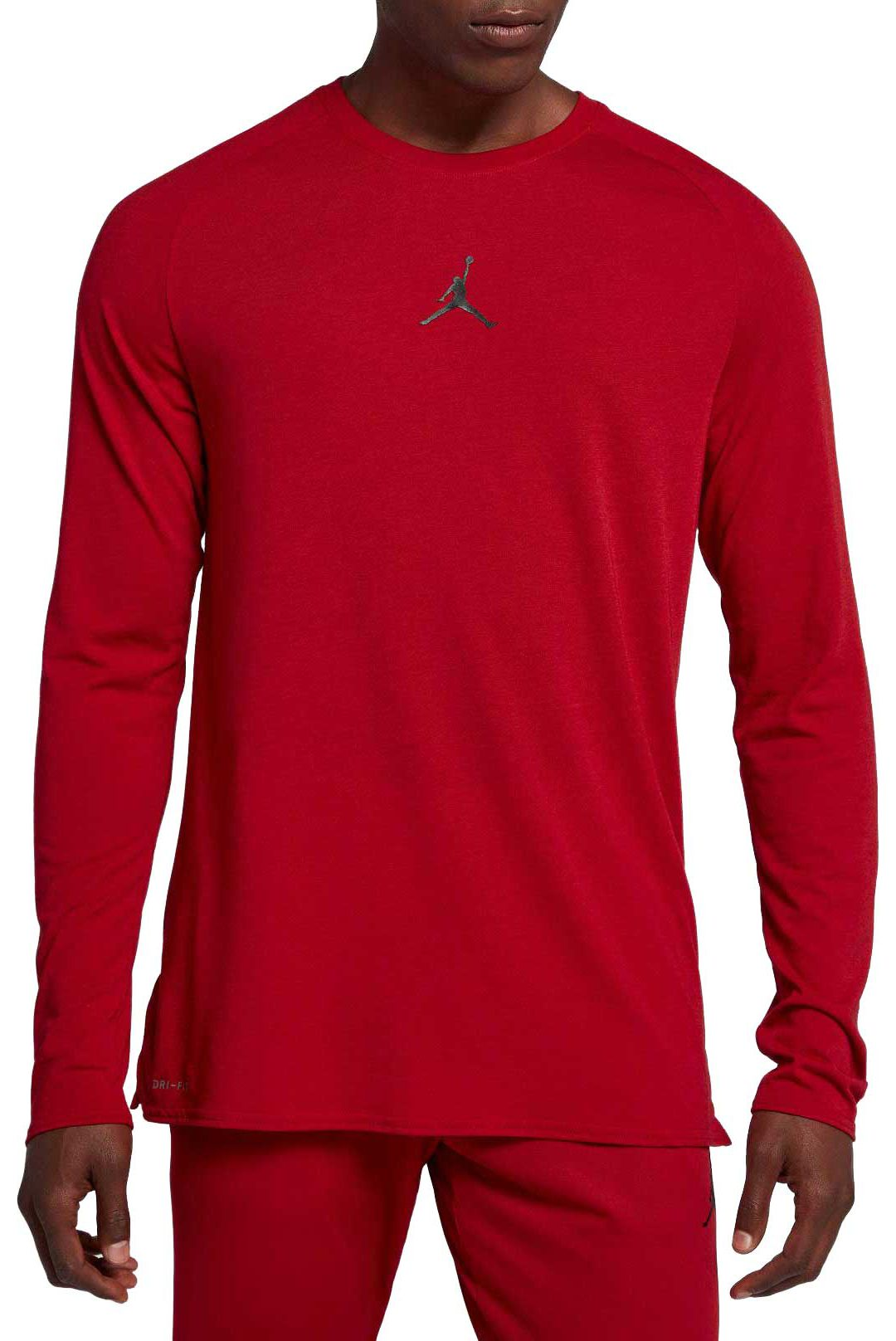 8a4d017f41 Jordan Men's Dry 23 Alpha Long Sleeve Shirt
