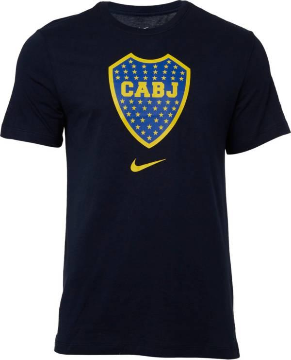 Nike Men's Boca Juniors '19 Crest Navy T-Shirt product image