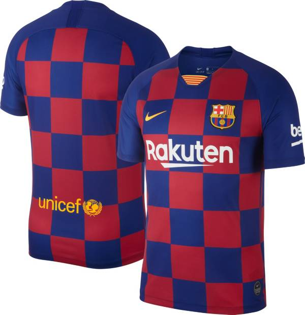 Nike Men's FC Barcelona '19 Breathe Stadium Home Replica Jersey product image