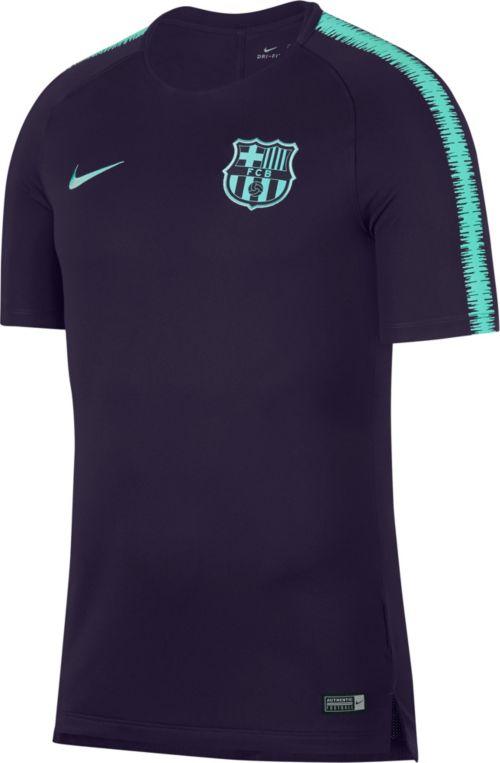 Nike Men s FC Barcelona Navy Training Top. noImageFound. Previous 54d36e435