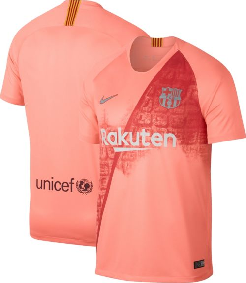 Nike Men s FC Barcelona 2018 Breathe Stadium Third Replica Jersey.  noImageFound. Previous 6f52a683be165