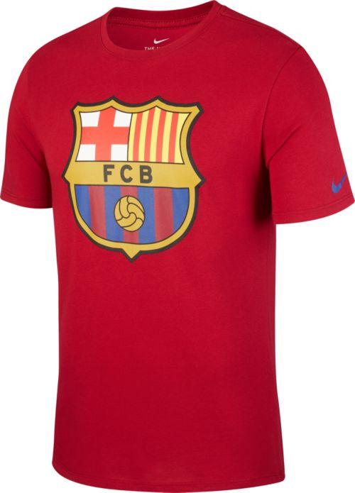 fffa813582a Nike Men s FC Barcelona Crest Maroon T-Shirt. noImageFound. Previous
