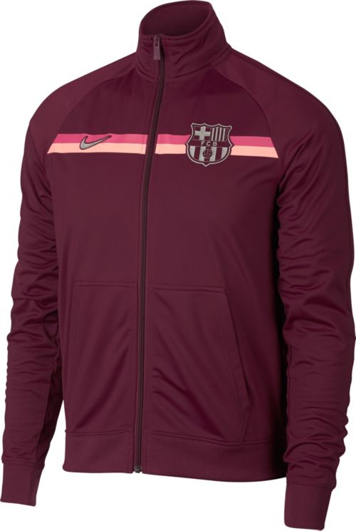 2a0a54d75db Nike Men s FC Barcelona Maroon Full-Zip Track Jacket. noImageFound. Previous
