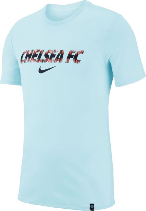 a896feaa Nike Men's Chelsea FC Prematch Blue T-Shirt | DICK'S Sporting Goods