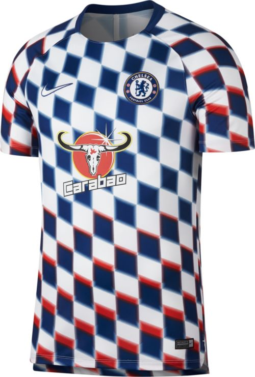 6011106d8 Nike Men s Chelsea FC Checkered Prematch Top. noImageFound. Previous
