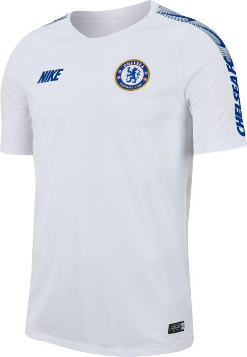1e4d0fa4aa4 Nike Men's Chelsea FC White Training Top. noImageFound. Previous