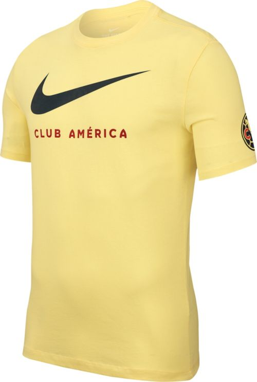 80f5c2fba0c Nike Men's Club America Swoosh Yellow T-Shirt | DICK'S Sporting Goods