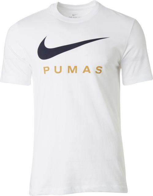 68d686ec Nike Men's Pumas UNAM Swoosh White T-Shirt | DICK'S Sporting Goods