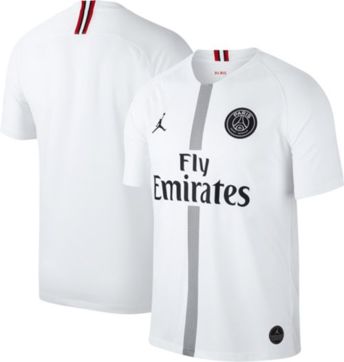 af382a2cbced Jordan Men s Paris Saint-Germain 18 19 Breathe Stadium White Third Replica  Jeresy. noImageFound. Previous
