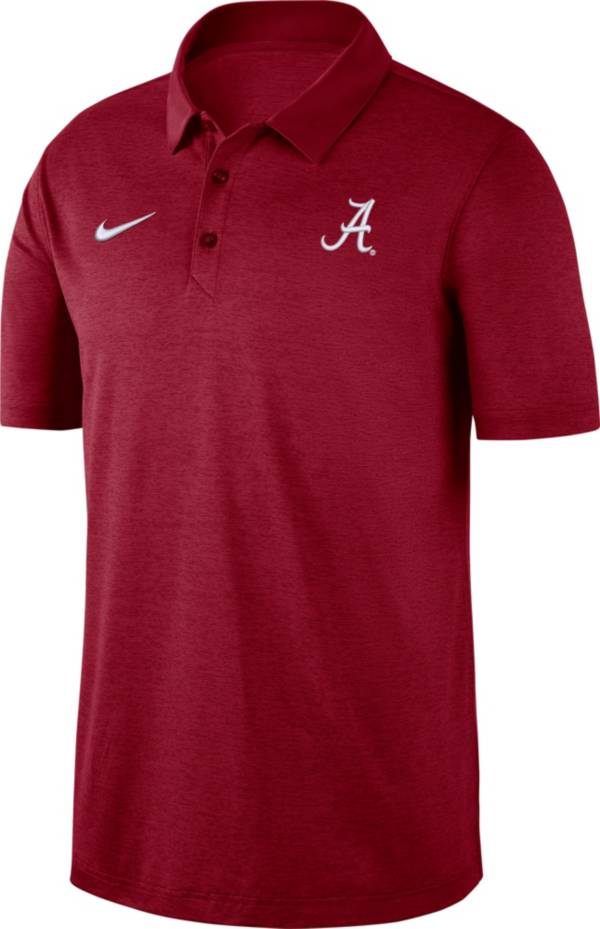 Nike Men's Alabama Crimson Tide Crimson Dri-FIT Breathe Polo product image