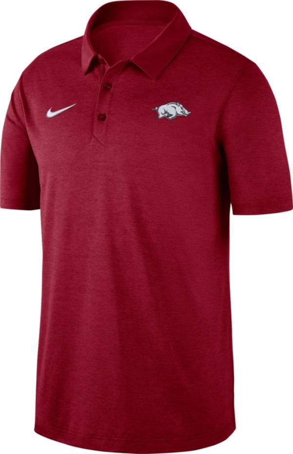 Nike Men's Arkansas Razorbacks Cardinal Dri-FIT Breathe Polo product image