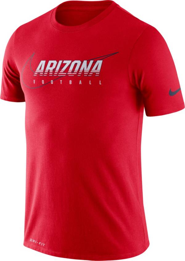Nike Men's Arizona Wildcats Cardinal Football Dri-FIT Cotton Facility T-Shirt product image