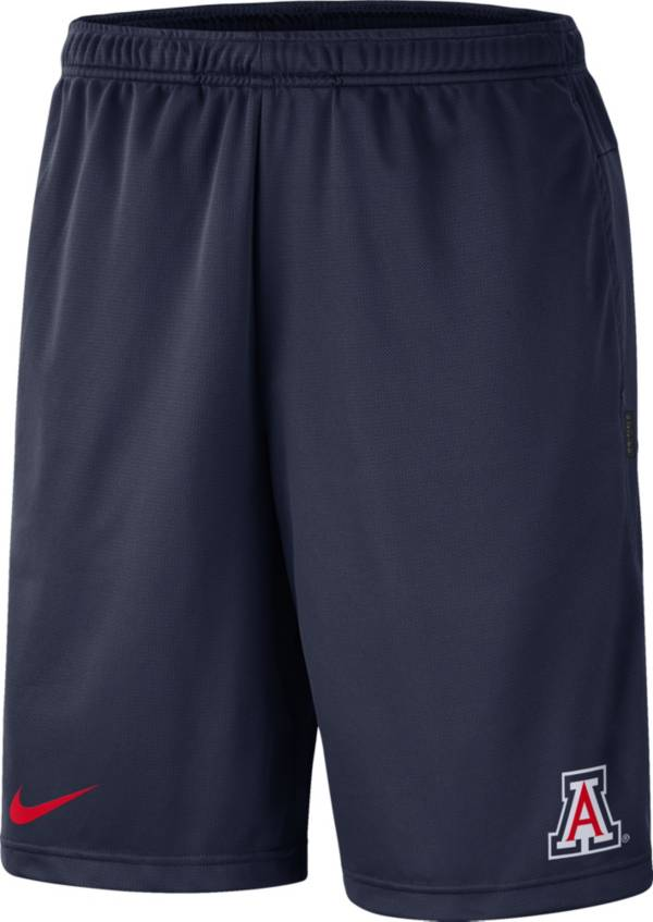 Nike Men's Arizona Wildcats Navy Dri-FIT Coach Shorts product image