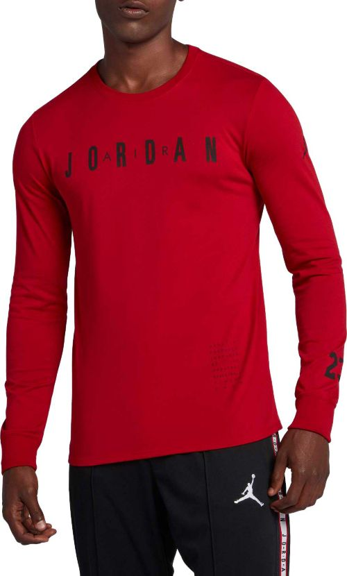69219f2d1df6 Jordan Men s Basketball Long Sleeve Graphic T-Shirt. noImageFound. Previous
