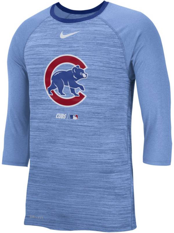 Nike Men's Chicago Cubs Dri-FIT Authentic Collection Legend Three-Quarter Sleeve Shirt product image