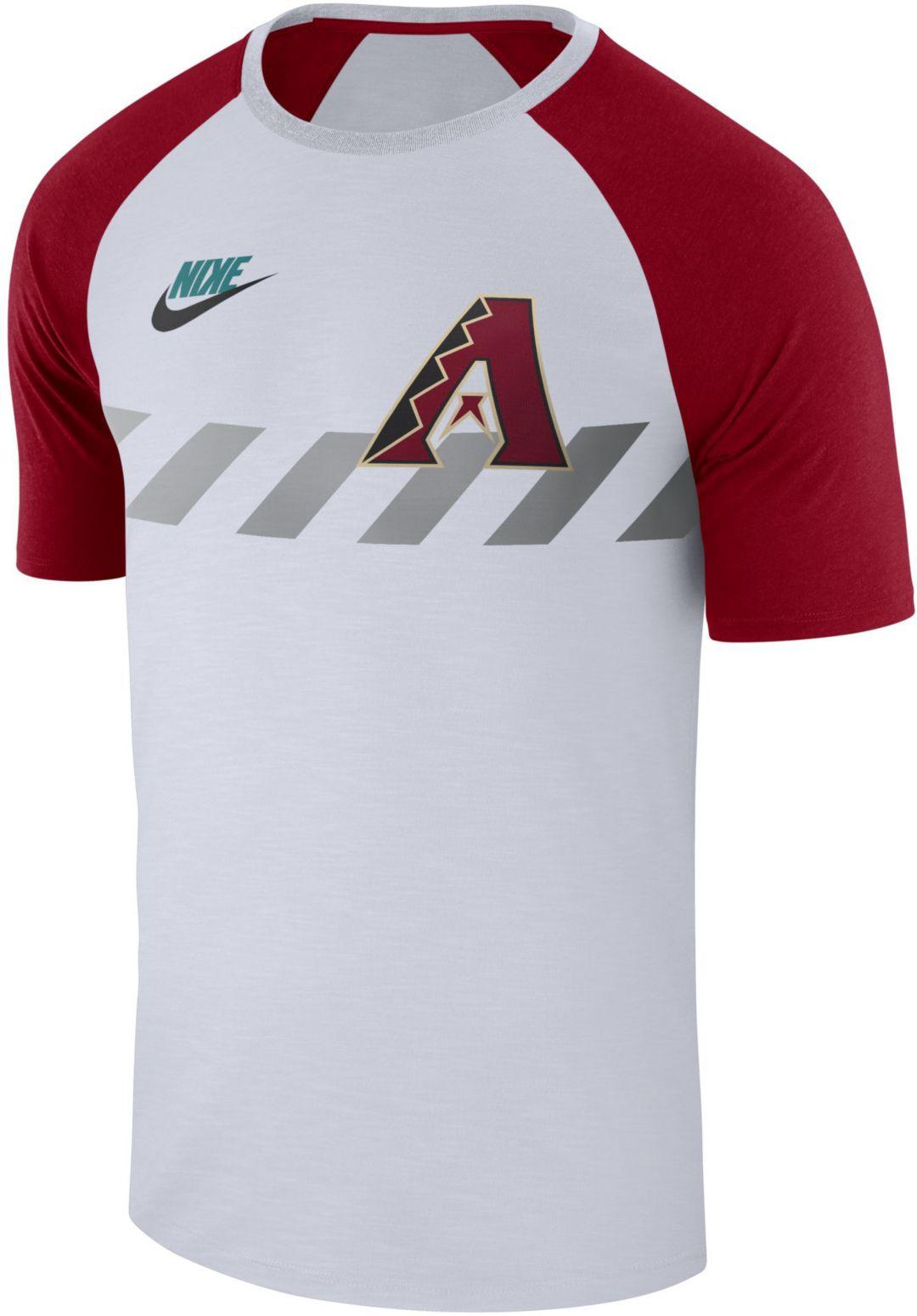 a6d47655 Nike Men's Arizona Diamondbacks Dri-FIT Raglan T-Shirt. noImageFound.  Previous