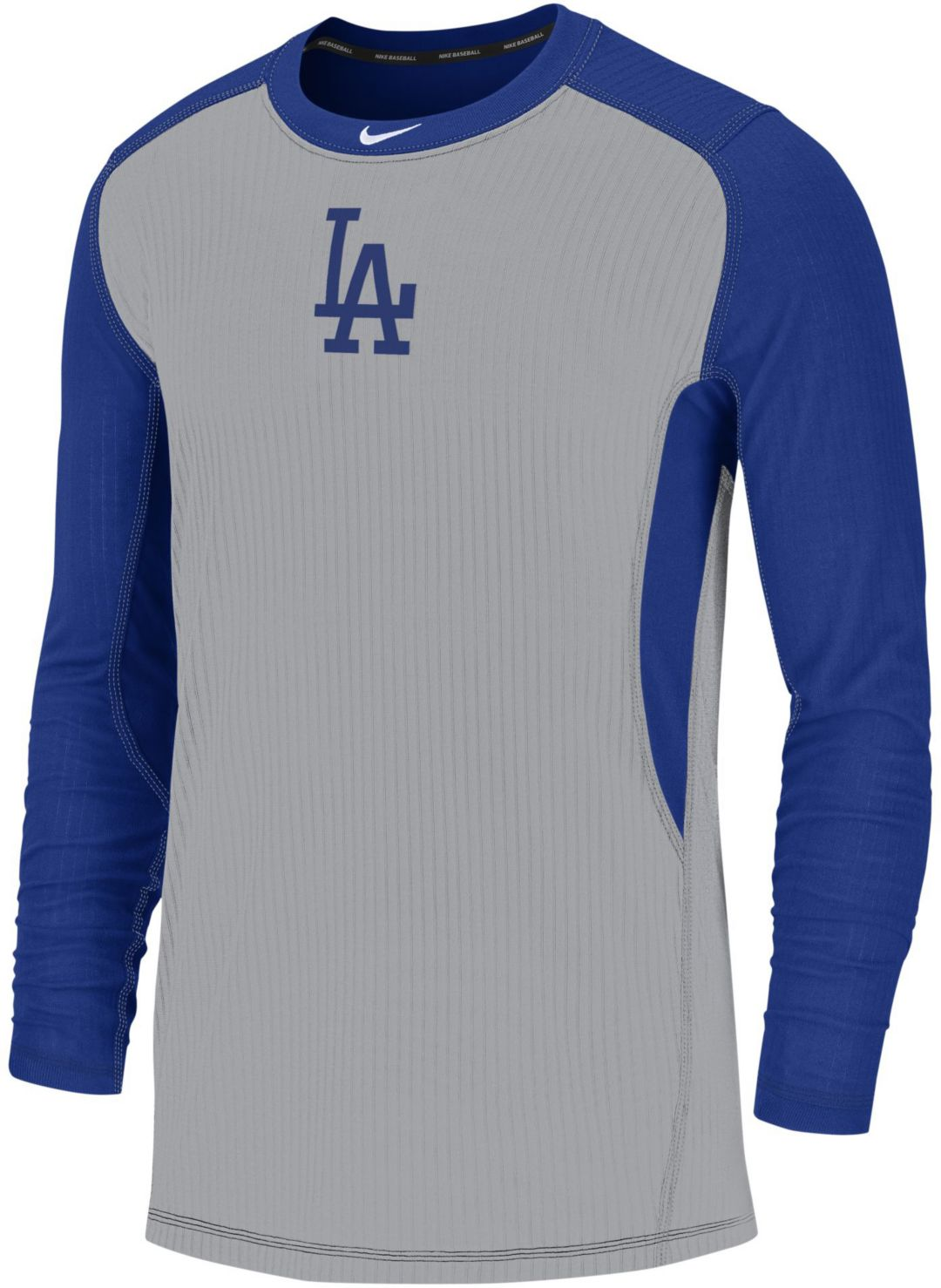 a8eaf57e Nike Men's Los Angeles Dodgers Authentic Collection Dri-FIT Long Sleeve Top