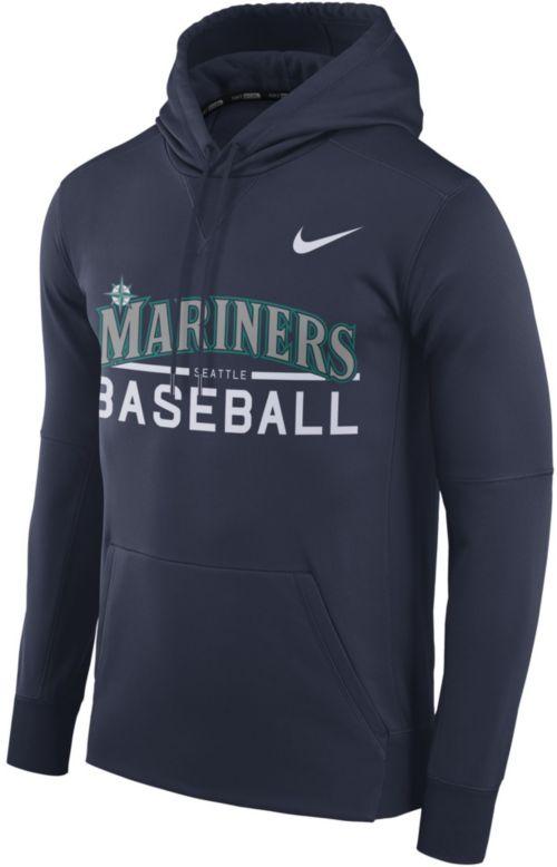 af5518372411 Nike Men s Seattle Mariners Pullover Hoodie