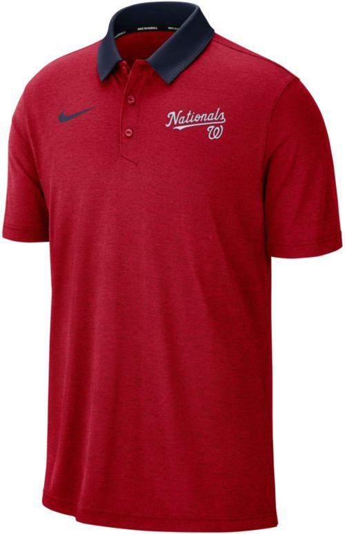 Nike Men s Washington Nationals Breathe Polo. noImageFound. Previous eddb81792